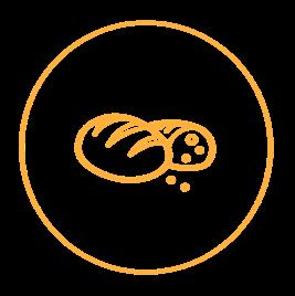 Haarla icons website Bakery