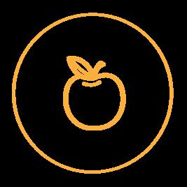 Haarla icons website Water treatment food